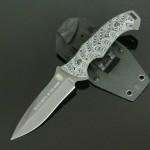 ナイフのハンドル素材