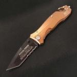 フォールディングナイフのロック機構の種類