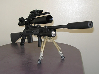 Xcaliber rifle chassis prototype