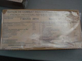 フランス軍の戦闘糧食