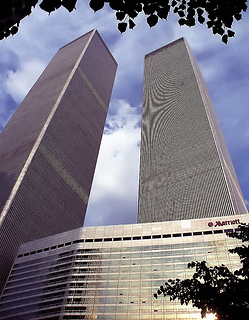New York City - World Trade Center & Marriott Hotel