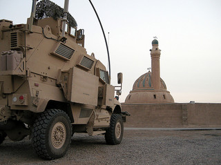 MRAP vs Mosque