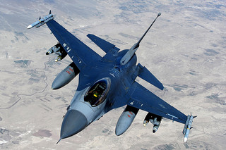 F-16 Aerial Refueling