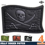 MAXPEDITION パッチ Jolly Roger ベルクロ PVC製