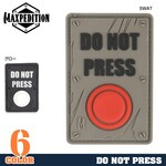 MAXPEDITION パッチ DO NOT PRESS ベルクロ PVC