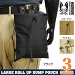 WARRIOR ASSAULT SYSTEMS 実物 ダンプポーチ ROLL UP