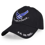 US AIR FORCE ベースボールキャップ 米空軍 エンブレム刺繍入