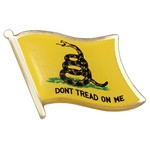 Rothco ピンバッジ ガズデン旗 Dont Tread Me 1676