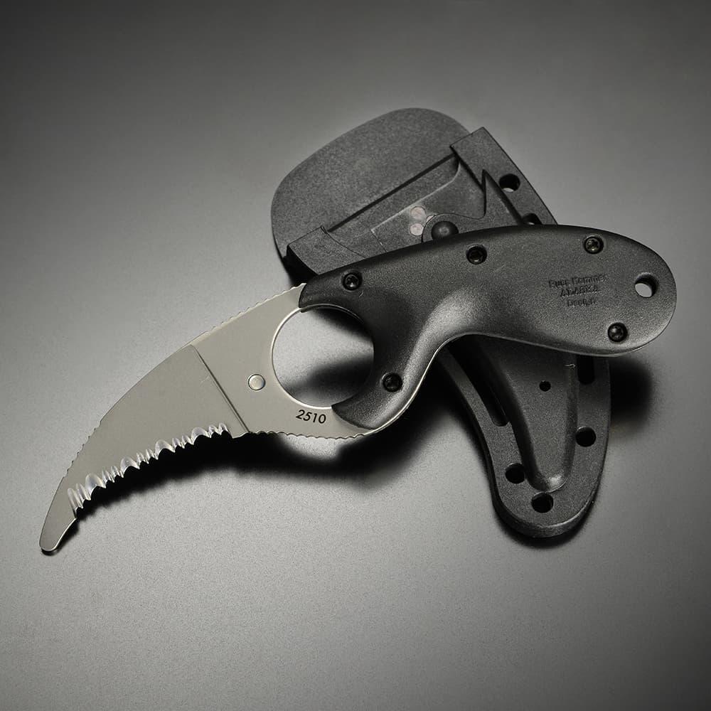 CRKT ナイフ BEAR CLAW ベアクロウ BLUNT TIP 波刃 2510[2510]