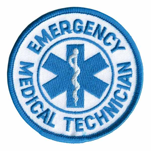 Rothco ミリタリーワッペン アメリカ救急救命士 熱圧着式