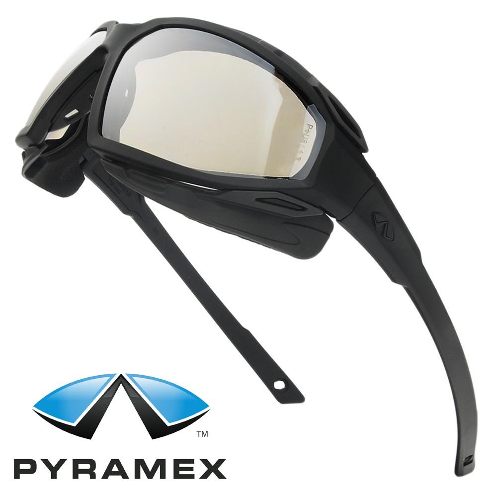 Pyramex セーフティーゴーグル ハイランダーXP IOミラー   Pyramex セーフテ