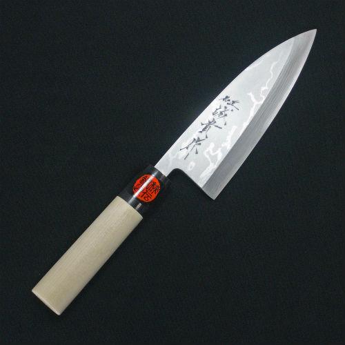 出刃包丁 田中一之刃物 誠貴作 積層鋼 135mm   出刃包丁 田中一之刃物 誠貴作 積層鋼