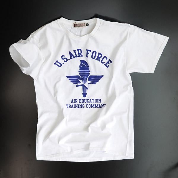 ヒューストン Tシャツ 半袖 USAF...