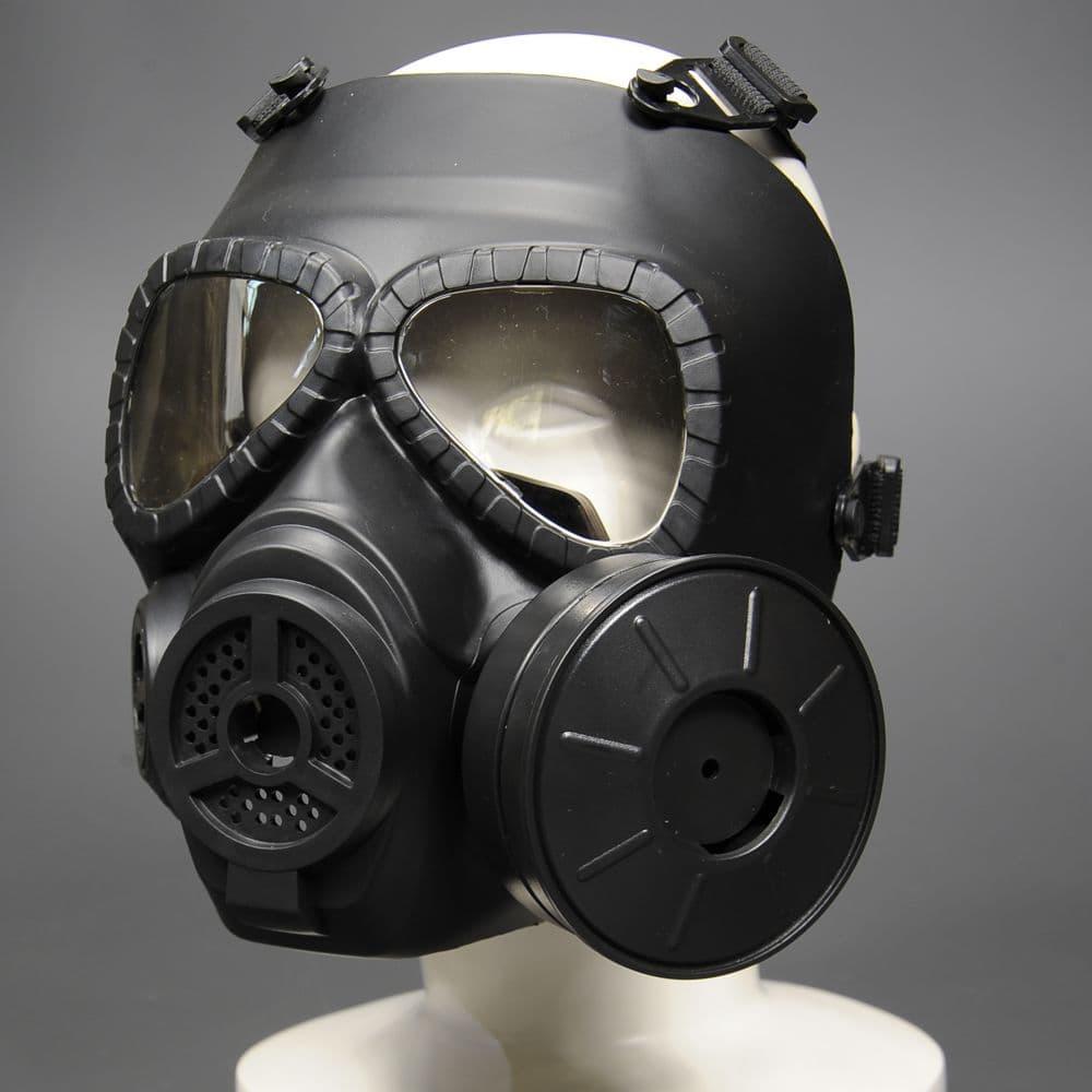 マスク 仕組み ガス