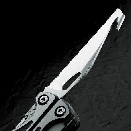 ガットフック付きナイフ