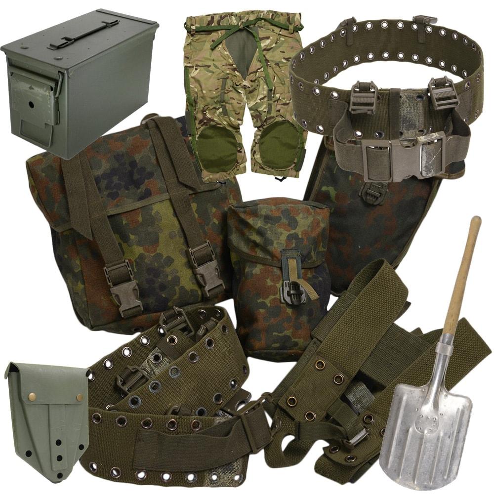 軍放出品の買取り