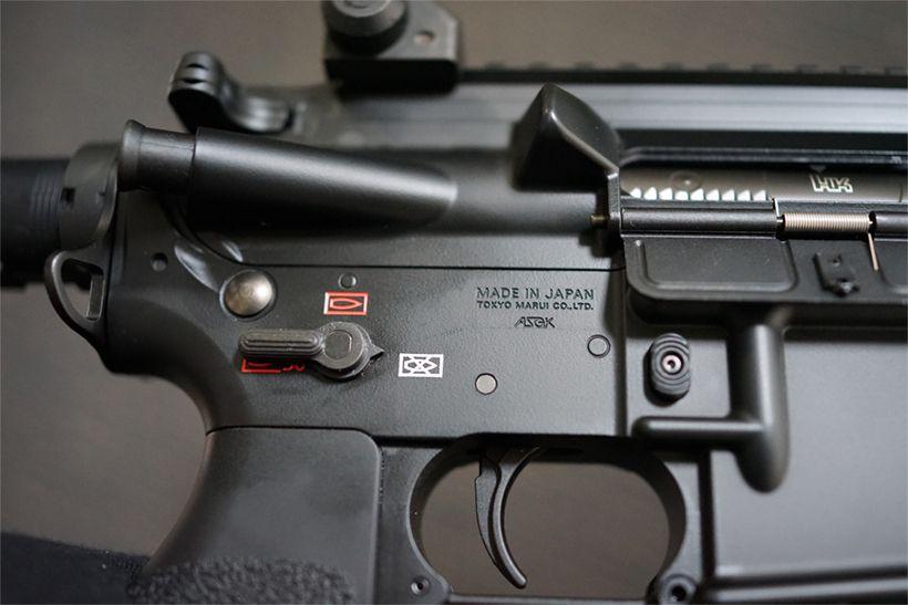 HK416Dの安全装置