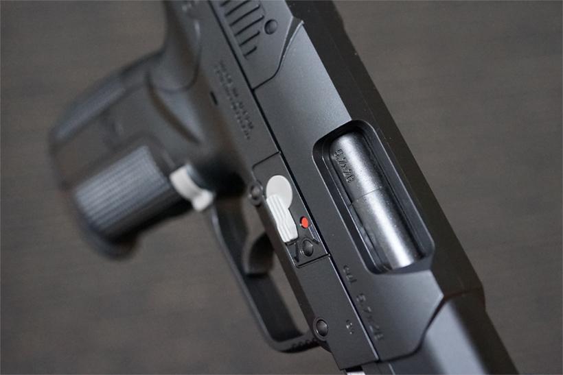 FN5-7のエジェクションポート