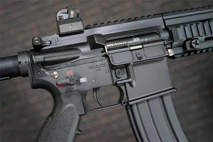 HK416Dのトリガー