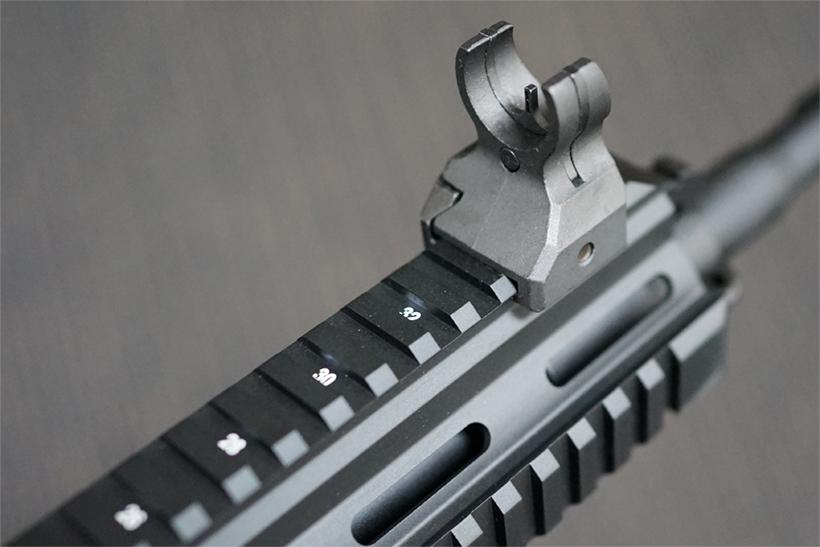HK416Dのフロントサイト