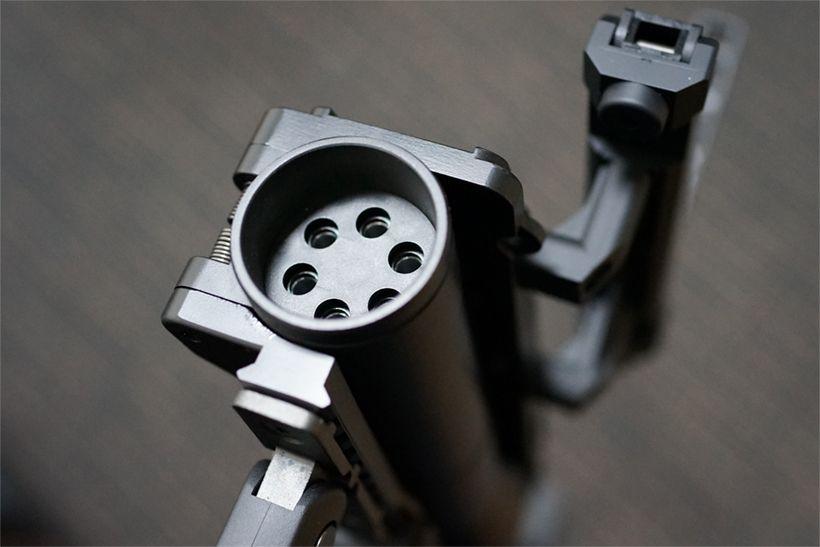 東京マルイ M320A1 ガスグレネードランチャーの筒先