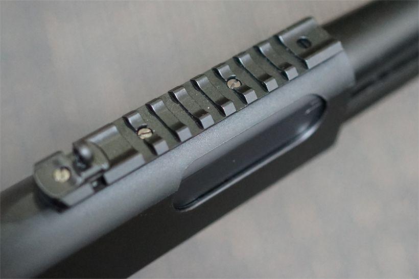 東京マルイ M870 タクティカルのピカニティーレイル